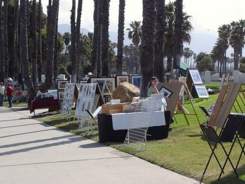 Cabrillo Blvd. Art s and Crafts Walk, Santa Barbara
