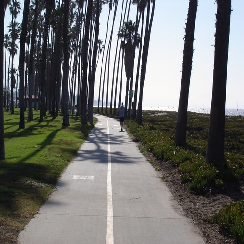 Santa Barbara Bike Path, Cabrillo Blvd. Promenade