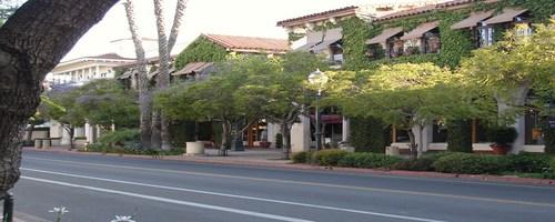 Downtown Santa Barbara, California