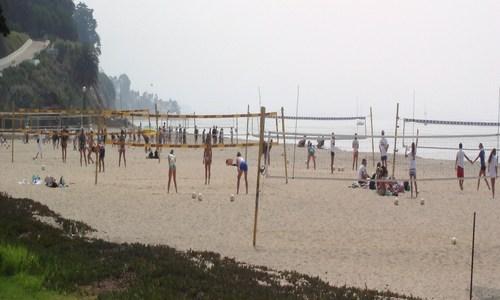 East Beach Volleyball, Santa Barbara