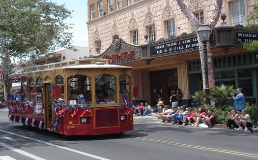 July 4th Parade, Santa Barbara