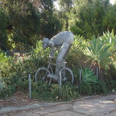 Santa Barbara Mountain Biker