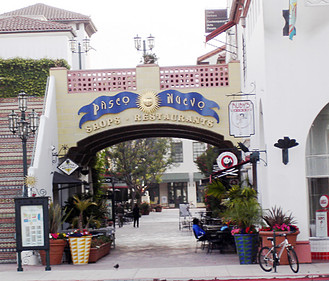 Paseo Nuevo, Santa Barbara