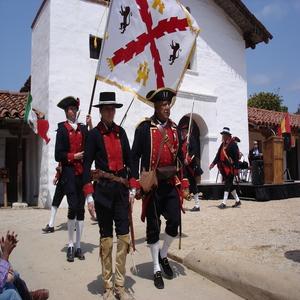Presidio Founder's Day, Santa Barbara