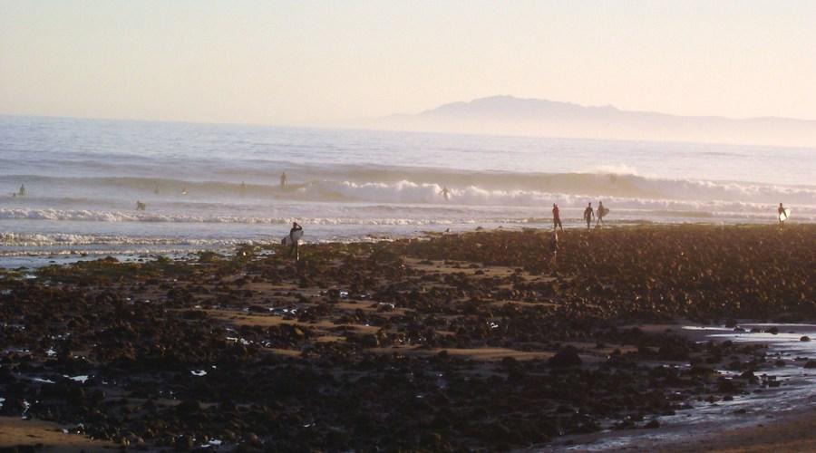 Rincon Point Waves , Santa Barbara, California