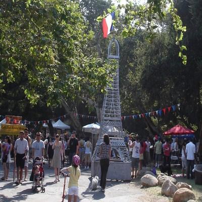 2008 French Festival at Oak Park, Santa Barbara