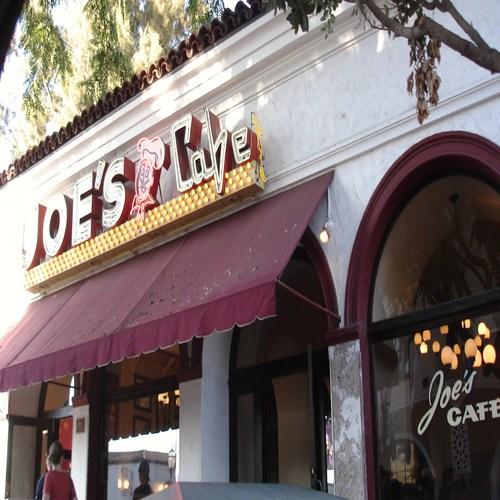Joe's Cafe, Santa Barbara, California