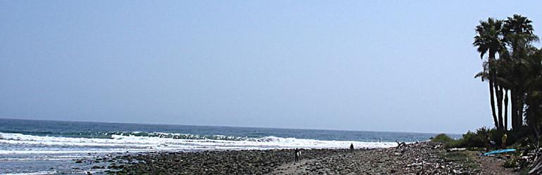 Rincon Beach, Santa Barbara