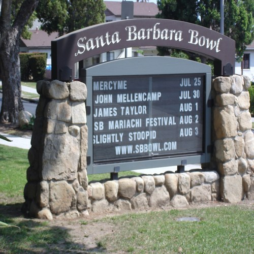 Santa Barbara Bowl, Santa Barbara, California